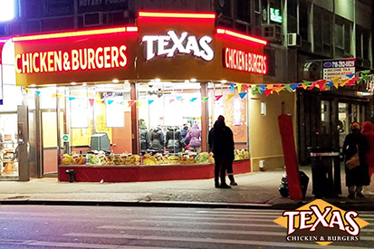 Texas Chicken & Burgers Opens First Location in Brooklyn, NY 521 Ocean Ave, Brooklyn, NY 11226