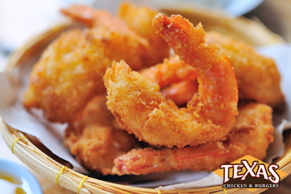 Texas Chicken & Burger Offering Jumbo Shrimp on Menu