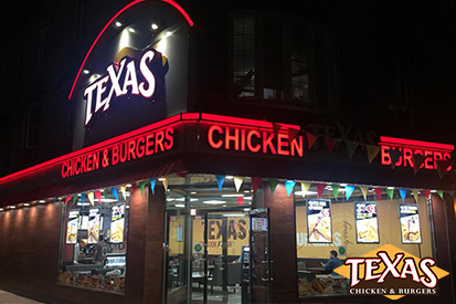 Grand Opening of Texas Chicken & Burgers at 1000 Coney Island Avenue