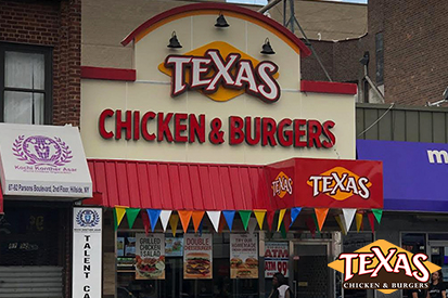 Jamaica, Queens Texas Chicken & Burgers Grand Opening