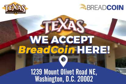 Our New Partnership with the Breadcoin Charity in Washington D.C.